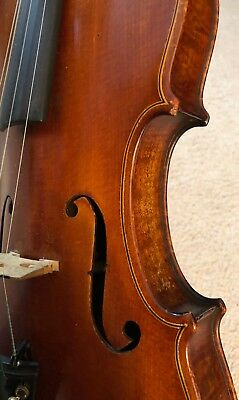 A Lovely and Interesting Old American Violin by Oscar Davis, Ohio, c. 1940,
