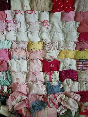 Massive Baby Girls Clothes Bundle 3 - 6 Months/Over 80 Items