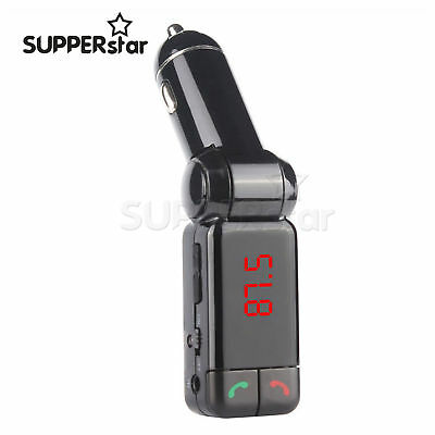 Transmitter Bluetooth Car Charger Radio Stereo MP3 Player Handsfree Calling ASS
