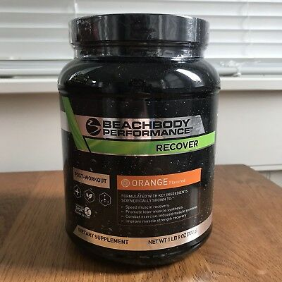 Beachbody Recover- Orange Flavor- Post Workout Drink Muscle Recovery BRAND NEW
