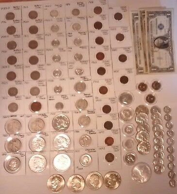 U.S. Silver Coins Plus  * Start of a collection *   *Free Shipping*