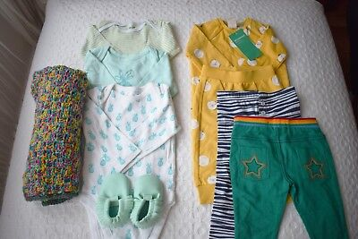 Baby Girl Clothing Bundle 0 - 12 months New H&M M&S Little Bird Carters