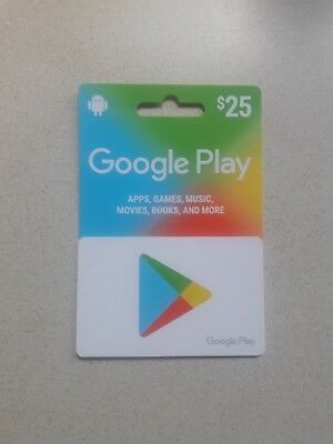 $25 Google Play Gift Card!