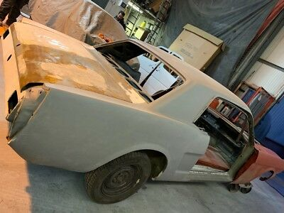 1965 Ford Mustang Notchback project car barn find almost complete!!