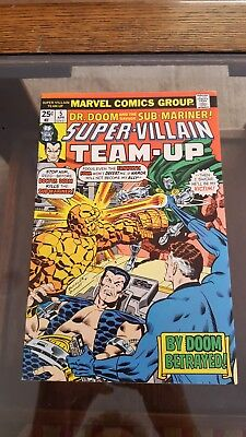 1976 MARVEL: Super-Villain Team-Up #5 x 1st App THE SHROUD x VF/NM