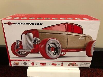 Automoblox Callelo HR-1 Red Coupe Wooden Car Toy