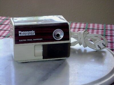 Panasonic Kp-110 Auto Stop Electric Pencil Sharpener Japan Tested!!