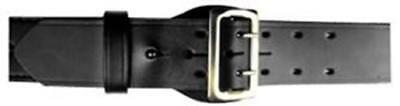 "Boston Leather 6501-3-38B 2-1/4"" Fully Lined Sam Browne Leather Belt SZ 38 Black"
