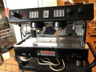 Portofino Brasilia commercial Espresso Machine with 2 Grinders