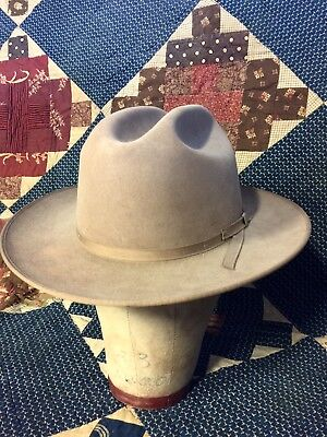 5b685f512f8 Vintage 60s Champ Featherweight Kasmir Finish Mens Fedora Hat...Size 7+1 4.   145.00 Buy It Now 24d 23h. See Details. Vintage 4x Stetson Open Road Hat 7  1 4