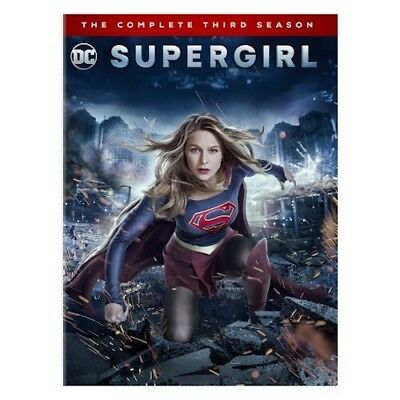 Supergirl: The Complete Third Season 3 (DVD, 5-Disc Set 2018) New & Sealed