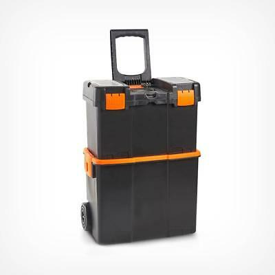 Professional Roller Tool Box Tools Trolley Wheels Pull Handle Case Storage Boxes