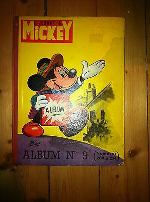 Journal de Mickey 1956 ALBUM / RELIURE n° 9 en Bon état