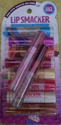 Lip Smackers, DESSERTS 8 pack of Lip balms & 2 glosses, RARE!