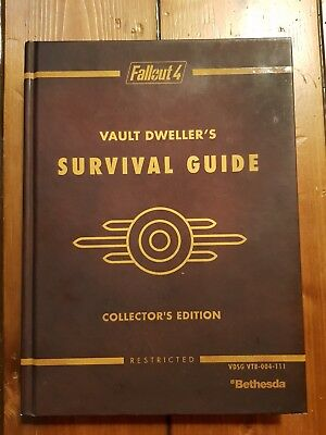 Fallout 4 Vault Dweller's Survival Guide Book Collector's Edition