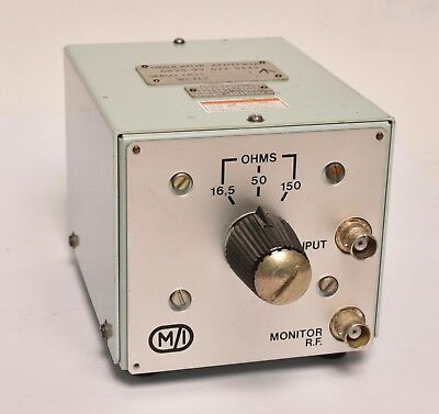 M/I Simulator, Antenna 6625-99-622-5445 50Ohm with missmatch16.5/150Ohm