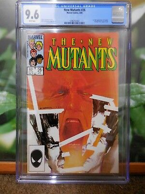 New Mutants #26 Cgc 9.6 First Appearance Of Legion Tv Show X-Men