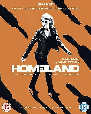 HOMELAND Season 7 Blu-Ray BRAND NEW Free Ship IMPORT - USA Compatible