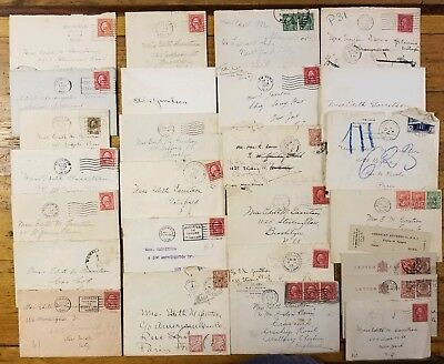 RARE Old Letters Collection • 1920s Handwritten Correspondence Antique Lot 20