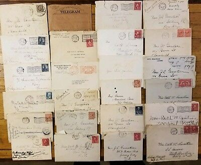 RARE Old Letters Collection • 1920s Handwritten Correspondence Antique Lot 22