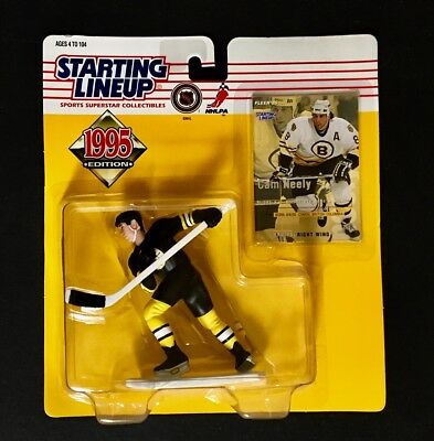 Sergei Samsonou Boston Bruins Hockey 1999 Starting Lineup SLU w card