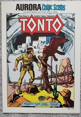 * Aurora Comic Scenes TONTO (MT 9.8) from an ORIGINAL OWNER Collection *