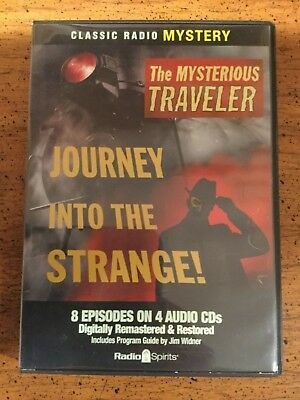 Old Time Radio Mysterious Traveler : Journey into the Strange (2008, CD) 4 CD