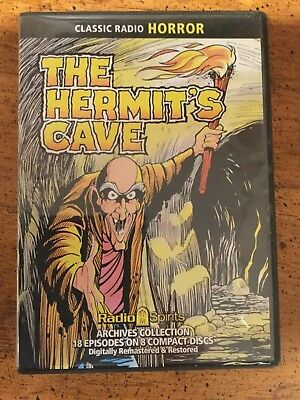 Classic Radio Horror The Hermit's Cave 8 CD set