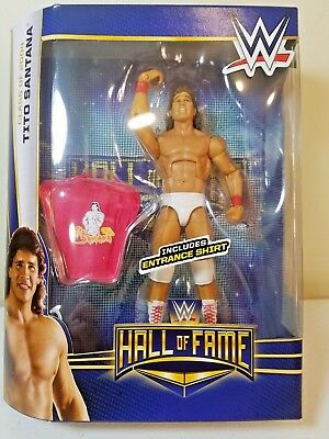 WWE Wrestling  Elite Hall of Fame Class Of 2004 Tito Santana Figure Mattel 2015
