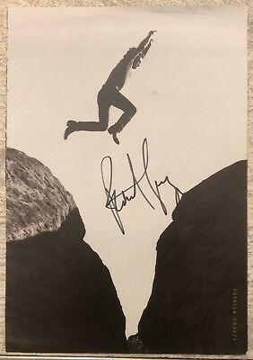 Patrick Swayze In-Person Signed Herb Ritts Large 9x13 Photograph JSA Authentic