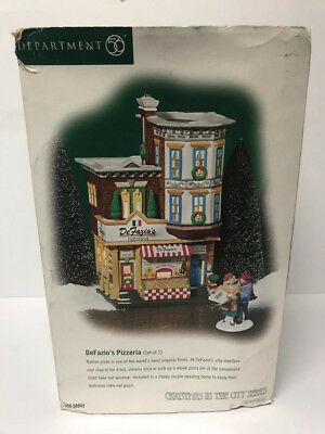 DeFazios Pizzeria Dept 56 Christmas in the City