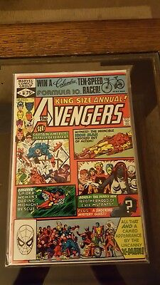 1981 MARVEL: The Avengers Annual #10 x near PERFECT x 1st App ROGUE x NM/M