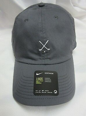 a6c5a9fe625 NIKE HERITAGE 86 Classic Golf Hat Cap one size Adjustable NEW WITH ...