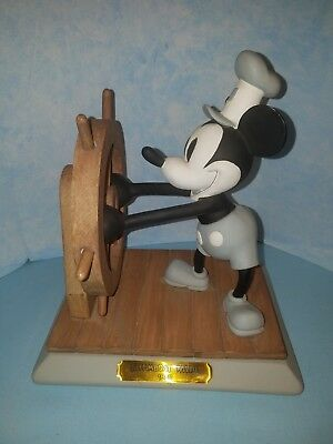 Disney Mickey Mouse as Steamboat Willie LTD ED 600 FIGURE 1992