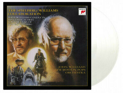 John Williams / Steven Spielberg Williams Collaboration MOV #d CLEAR vinyl 2 LP