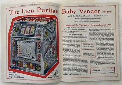 c 1920 COIN Operated VENDING MACHINE CATALOG Advertising TRADE STIMULATOR 24 pg