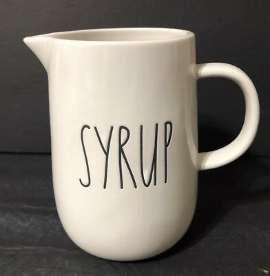 Rae Dunn SYRUP pitcher