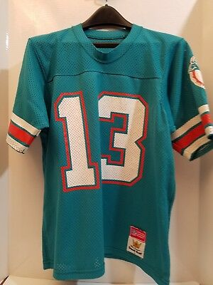 446e096b62d Vintage 80s NFL Sand Knit MACGREGOR Dan Marino 13 MIAMI DOLPHINS Jersey  Youth L