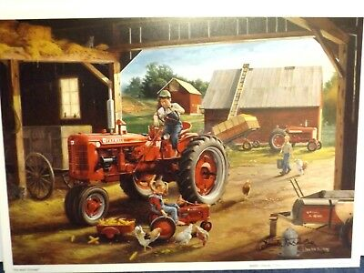 FARMALL TRACTOR ART by CHARLES FREITAG - FARMALL FRIENDS - SIGNED PRINT ONLY