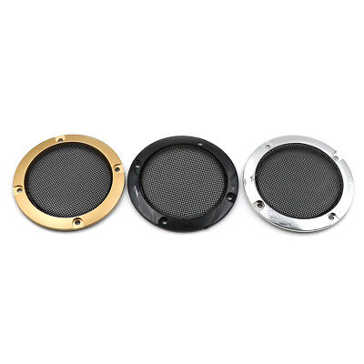 "3"" inch Audio speaker cover decorative circle metal mesh grille FLEBAU"