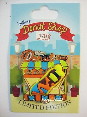 DISNEY May 2018 Pin of the Month DISNEY DONUT SHOP GOOFY