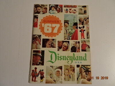 Vintage Disneyland Summer '67 Guide Book 1967 48 Page