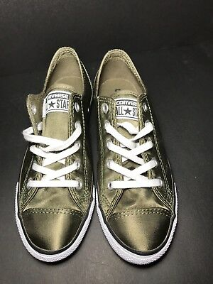 30d1ab80edf7 Converse Chuck Taylor All Star Dainty OX Women s Shoes Medium  Olive White557976