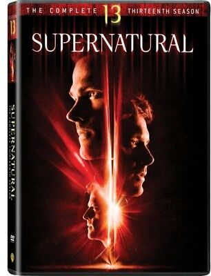 Supernatural Season 13 (DVD) REGION 1 DVD (USA) Brand NEW and Sealed