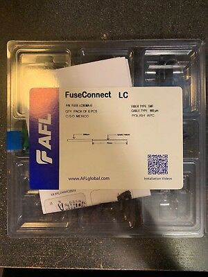 AFLglolbal FuseConnect LC P/N FUSE-LC9SMA-6 Fiber type SMF Cable 900um