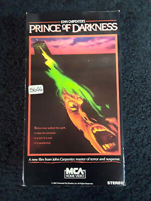 Prince of Darkness beta in vhs box rare horror oop gore