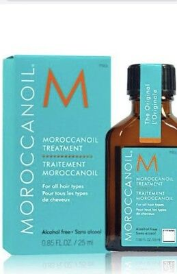 Moroccan Oil Treatment 25 Ml X 3 Free Shipping!