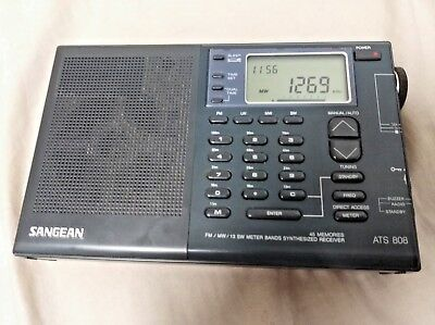 Sangean Ats 808 Digital Tuning Am/fm/lw/sw Portable Radio