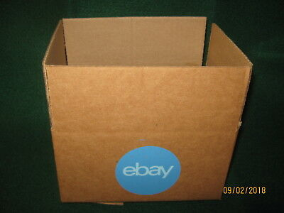 "eBay-Branded LOGO Boxes 2 (8"" x 6"" x 4"") NEW (Blue Label)"