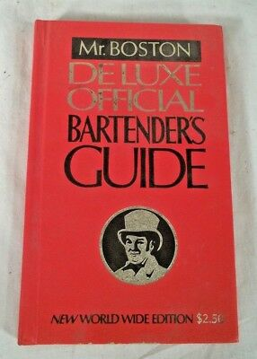 Mr Boston Deluxe Official Bartenders Guide